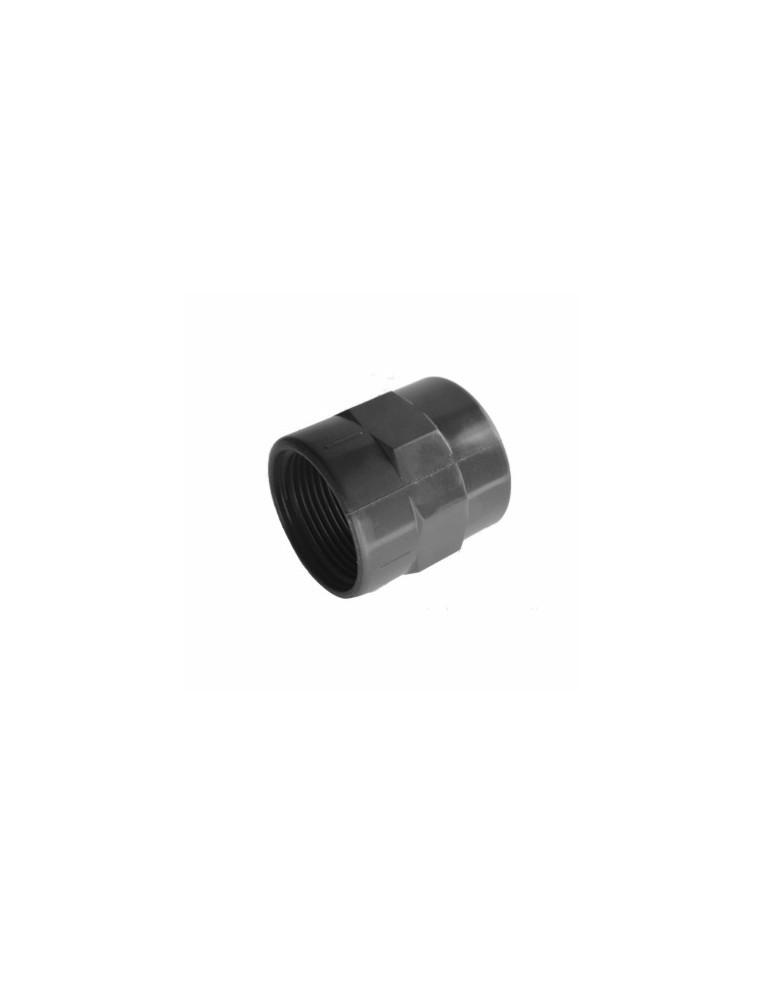 MANGUITO ENCOLAR HEMBRA-ROSCA HEMBRA 25mm-3/4''